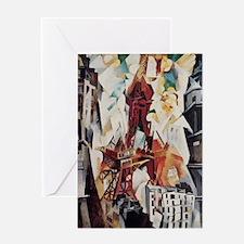 Robert Delaunay Eiffel Tower Greeting Card