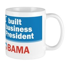 I Built My Business Mr. President Mug