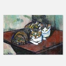 Suzanne Valadon Two Cats Postcards (Package of 8)