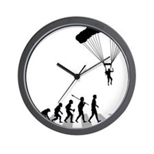 Parachuting Wall Clock