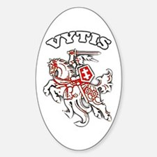 vytis Oval Decal