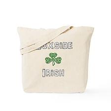 Soxside Irish - Celtic Shamrock Tote Bag