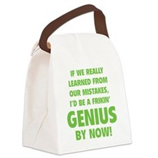 geniusLearned1D Canvas Lunch Bag
