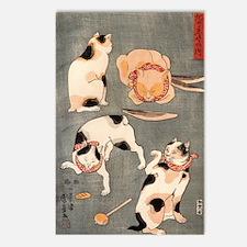 Utagawa Kuniyoshi Postcards (Package of 8)
