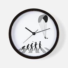 Paragliding-B Wall Clock