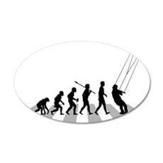 Kiteboarding 35x21 Oval Wall Decal