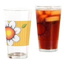 Daisy Joy yellow Mens Wallet Drinking Glass