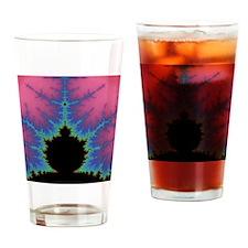 Vertical Mandlebrot Set Drinking Glass