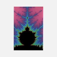 Vertical Mandlebrot Set Rectangle Magnet