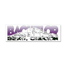BACHELOR Car Magnet 10 x 3