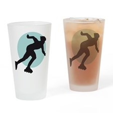 inline skater Drinking Glass