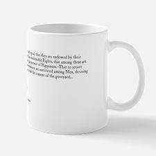 Thomas Jefferson  - Declaration of Inde Mug