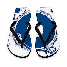 Male Turntable Flip Flops