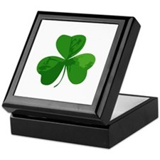 Shamrock Symbol Keepsake Box