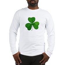 Shamrock Symbol Long Sleeve T-Shirt