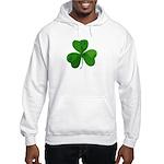 Shamrock Symbol Hooded Sweatshirt