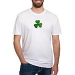 Shamrock Symbol Fitted T-Shirt