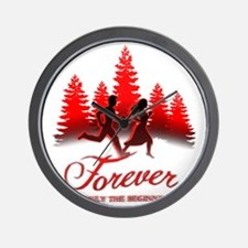 Forever is Only The Beginning (Bella  E Wall Clock