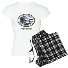 Fort Lewis with Text Pajamas