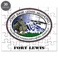 Fort Lewis with Text Puzzle