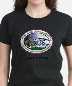 Fort Lewis with Text Tee