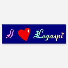 I Love Legaspi Gifts Bumper Bumper Bumper Sticker
