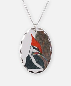 Pileated Woodpecker Necklace