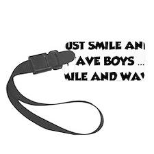 smileAndWave1A Luggage Tag