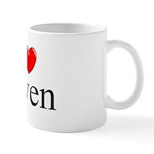 """""""I Love (Heart) Gwen"""" Mug"""