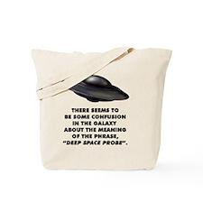 Deep Space Probe Tote Bag