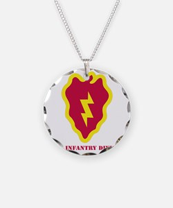 SSI - 25th Infantry Division Necklace