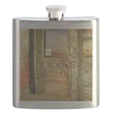 Ground Zero Delta Door Shower Curtain Flask