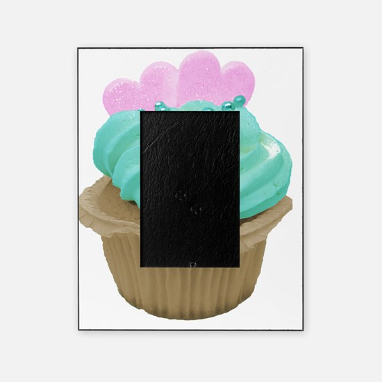 Pink Hearts Cupcake Picture Frame