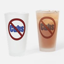 No Cubs Drinking Glass