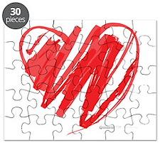 Crayon Heart Puzzle