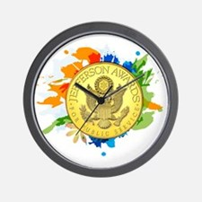 Youth Service Initiatives Wall Clock