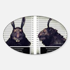 Evil Easter Bunny Rabbit Decal