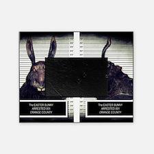 Evil Easter Bunny Rabbit Picture Frame