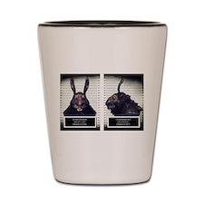 Evil Easter Bunny Rabbit Shot Glass