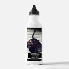 Evil Easter Bunny Rabbit Water Bottle