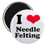 I Love Needle Felting Magnet