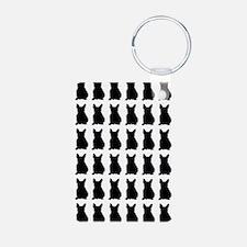 French Bulldog Silhouette  Keychains