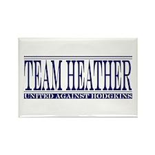 Team Heather Rectangle Magnet