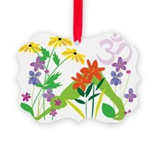 Humming Flowers Ornament