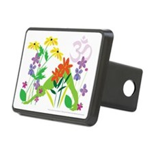 Humming Flowers Hitch Cover