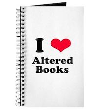 I Love Altered Books Journal