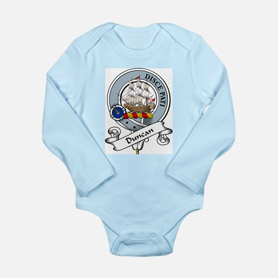 Duncan Clan Badge Infant Creeper Body Suit