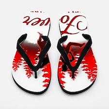 Forever Bella  Edward! Flip Flops
