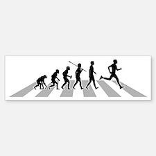 Running-B Bumper Bumper Sticker