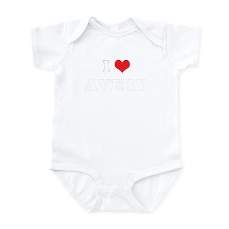 I Heart AVERY Infant Bodysuit